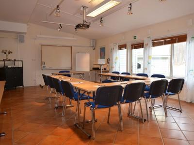 Svanen Hotell och vandrarhem konferensrum